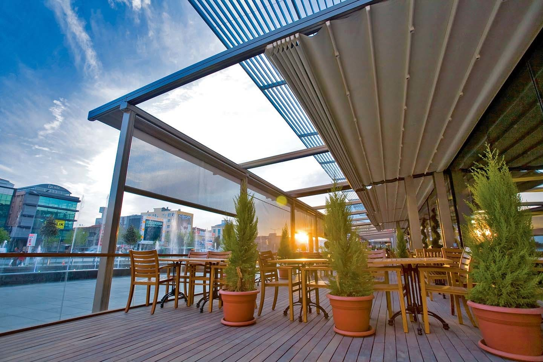 Строительство террас для кафе и ресторанов фото